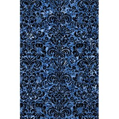 Damask2 Black Marble & Blue Marble 5 5  X 8 5  Notebook by trendistuff