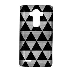 Triangle3 Black Marble & Silver Brushed Metal Lg G4 Hardshell Case