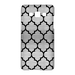 Tile1 Black Marble & Silver Brushed Metal (r) Samsung Galaxy A5 Hardshell Case  by trendistuff