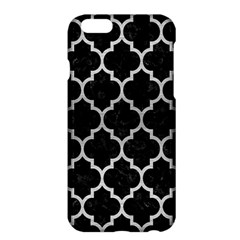 Tile1 Black Marble & Silver Brushed Metal Apple Iphone 6 Plus/6s Plus Hardshell Case by trendistuff
