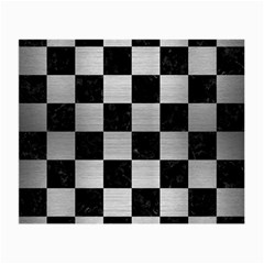 Square1 Black Marble & Silver Brushed Metal Small Glasses Cloth by trendistuff