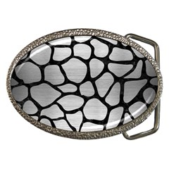 SKN1 BK MARBLE SILVER Belt Buckles by trendistuff