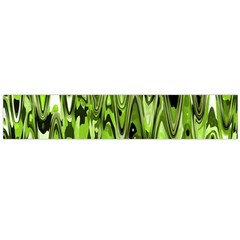 Funky Chevron Green Flano Scarf (large) by MoreColorsinLife