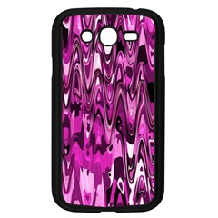 Funky Chevron Hot Pink Samsung Galaxy Grand Duos I9082 Case (black) by MoreColorsinLife