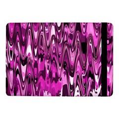 Funky Chevron Hot Pink Samsung Galaxy Tab Pro 10 1  Flip Case by MoreColorsinLife