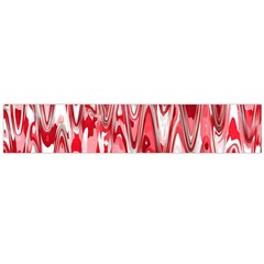 Funky Chevron Red Flano Scarf (large) by MoreColorsinLife
