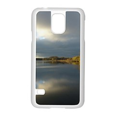 View   On The Lake Samsung Galaxy S5 Case (white) by Costasonlineshop