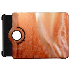 Floating Peach Kindle Fire HD Flip 360 Case by timelessartoncanvas