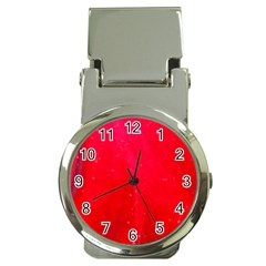 Red And Beautiful Money Clip Watches by timelessartoncanvas
