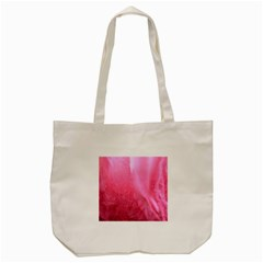 Floating Pink Tote Bag (cream) by timelessartoncanvas