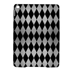 DIA1 BK MARBLE SILVER iPad Air 2 Hardshell Cases by trendistuff