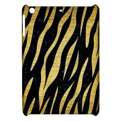 Skin3 Black Marble & Gold Brushed Metal Apple Ipad Mini Hardshell Case by trendistuff