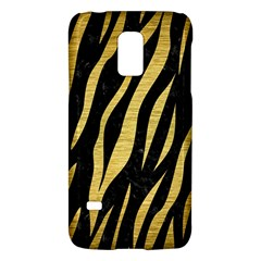 Skin3 Black Marble & Gold Brushed Metal Samsung Galaxy S5 Mini Hardshell Case  by trendistuff
