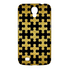 Puzzle1 Black Marble & Gold Brushed Metal Samsung Galaxy Mega 6 3  I9200 Hardshell Case by trendistuff