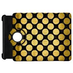 CIR2 BK MARBLE GOLD Kindle Fire HD Flip 360 Case by trendistuff