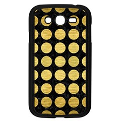 Circles1 Black Marble & Gold Brushed Metal Samsung Galaxy Grand Duos I9082 Case (black) by trendistuff