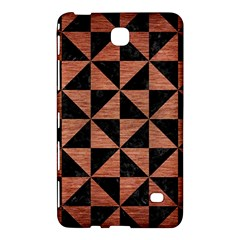 Triangle1 Black Marble & Copper Brushed Metal Samsung Galaxy Tab 4 (8 ) Hardshell Case  by trendistuff
