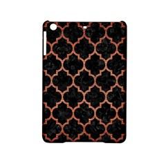 Tile1 Black Marble & Copper Brushed Metal Apple Ipad Mini 2 Hardshell Case by trendistuff