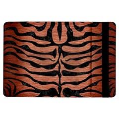 Skin2 Black Marble & Copper Brushed Metal (r) Apple Ipad Air Flip Case by trendistuff