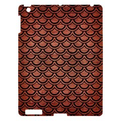 Scales2 Black Marble & Copper Brushed Metal (r) Apple Ipad 3/4 Hardshell Case by trendistuff