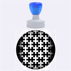 Rubber Stamp Round (large) by trendistuff