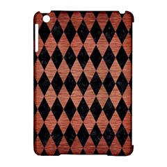 Diamond1 Black Marble & Copper Brushed Metal Apple Ipad Mini Hardshell Case (compatible With Smart Cover) by trendistuff