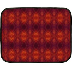 Brown Diamonds Pattern Fleece Blanket (mini) by Costasonlineshop