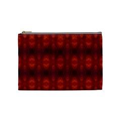 Brown Diamonds Pattern Cosmetic Bag (medium)  by Costasonlineshop