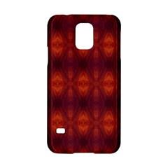 Brown Diamonds Pattern Samsung Galaxy S5 Hardshell Case  by Costasonlineshop