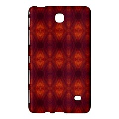 Brown Diamonds Pattern Samsung Galaxy Tab 4 (8 ) Hardshell Case  by Costasonlineshop
