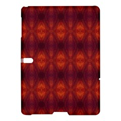Brown Diamonds Pattern Samsung Galaxy Tab S (10 5 ) Hardshell Case  by Costasonlineshop