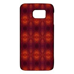 Brown Diamonds Pattern Galaxy S6 by Costasonlineshop