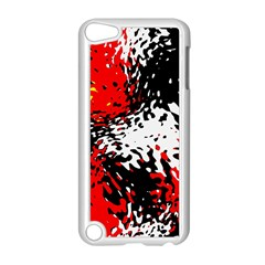 Glass Texture  apple Ipod Touch 5 Case (white) by LalyLauraFLM