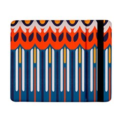Textured shapes in retro colors    			Samsung Galaxy Tab Pro 8.4  Flip Case by LalyLauraFLM