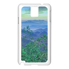 Fantasy Landscape Photo Collage Samsung Galaxy Note 3 N9005 Case (white) by dflcprints