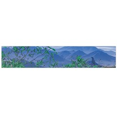 Fantasy Landscape Photo Collage Flano Scarf (large) by dflcprints
