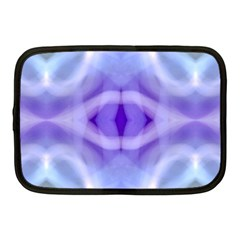 Beautiful Blue Purple Pastel Pattern, Netbook Case (medium)  by Costasonlineshop