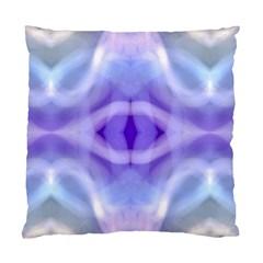 Beautiful Blue Purple Pastel Pattern, Standard Cushion Case (one Side)  by Costasonlineshop