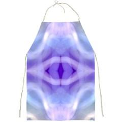 Beautiful Blue Purple Pastel Pattern, Full Print Aprons by Costasonlineshop