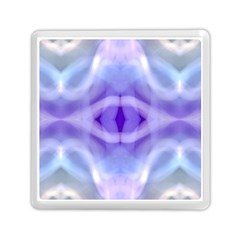 Beautiful Blue Purple Pastel Pattern, Memory Card Reader (Square)  by Costasonlineshop