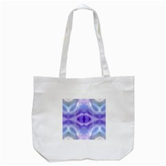 Beautiful Blue Purple Pastel Pattern, Tote Bag (white) by Costasonlineshop
