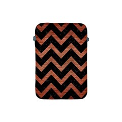 CHV9 BK MARBLE COPPER Apple iPad Mini Protective Soft Cases by trendistuff