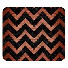 CHV9 BK MARBLE COPPER Double Sided Flano Blanket (Small)  by trendistuff