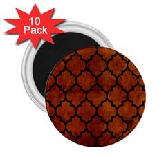 TIL1 BK MARBLE BURL (R) 2.25  Magnets (10 pack)  by trendistuff