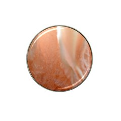 Floating Subdued Peach Hat Clip Ball Marker (4 Pack) by timelessartoncanvas