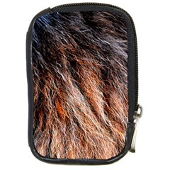 Black Red Hair Compact Camera Cases by timelessartoncanvas