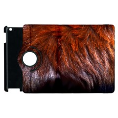 Red Hair Apple Ipad 3/4 Flip 360 Case by timelessartoncanvas