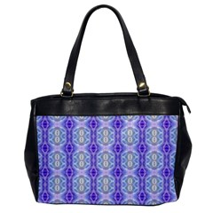 Light Blue Purple White Girly Pattern Office Handbags by Costasonlineshop