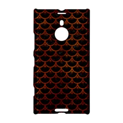 Scales3 Black Marble & Brown Burl Wood Nokia Lumia 1520 Hardshell Case by trendistuff