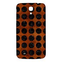 Circles1 Black Marble & Brown Burl Wood (r) Samsung Galaxy Mega I9200 Hardshell Back Case by trendistuff